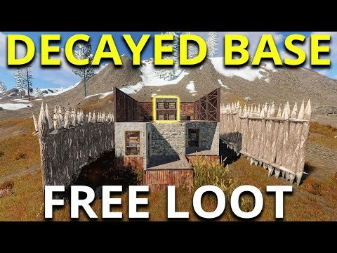 RUST DECAYED BASE GIVES MAD JACKPOT - Rust Solo Survival Gameplay