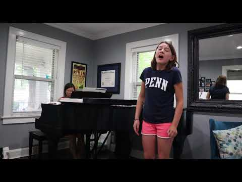 Grace Weber Stage Right audition