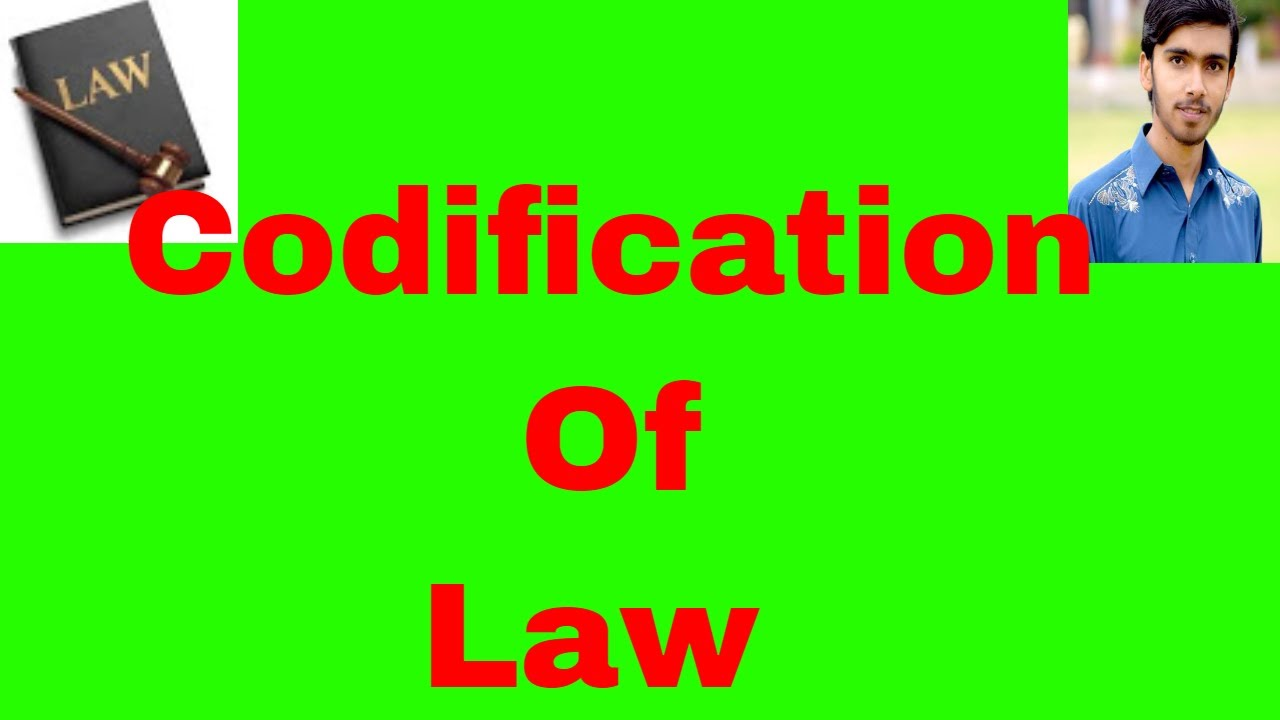 Difference between codifying and consolidating statutes meaning