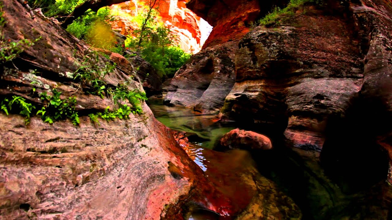Water Wallpaper Hd Live The Most Beautiful Hike In The World The Subway In Zion