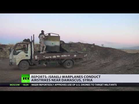 Israel reportedly strikes Syrian 'military targets' near Damascus