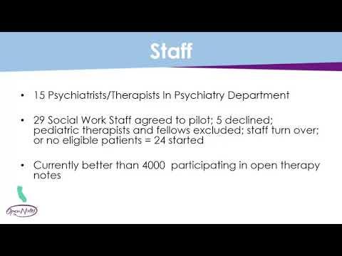 Sharing Mental Health Notes