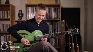 Fibonacci Chiquita Archtop Guitar Played By Stuart Ryan