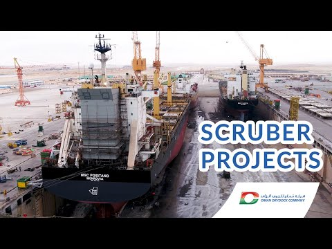 Scrubber Projects In Oman Drydock Company (ODC)