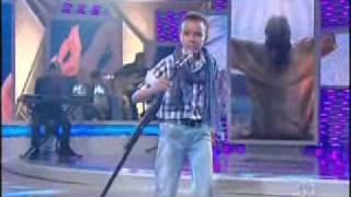 Jota A - Aline barros Sonda me, Usa me Programa Raul Gil - Jovens Talentos Kids 03/09/11
