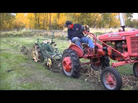 Antique Horse Drawn Potato Digger