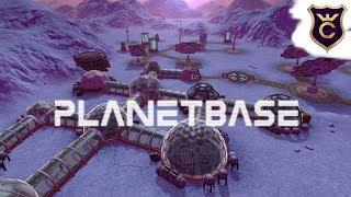 СТРОИТЕЛЬСТВО КОСМИЧЕСКОЙ КОЛОНИИ - Planetbase - ДАВАЙ ПОСМОТРИМ