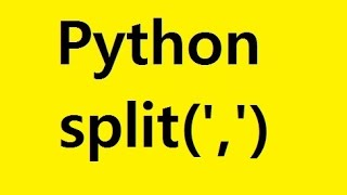 Python split function