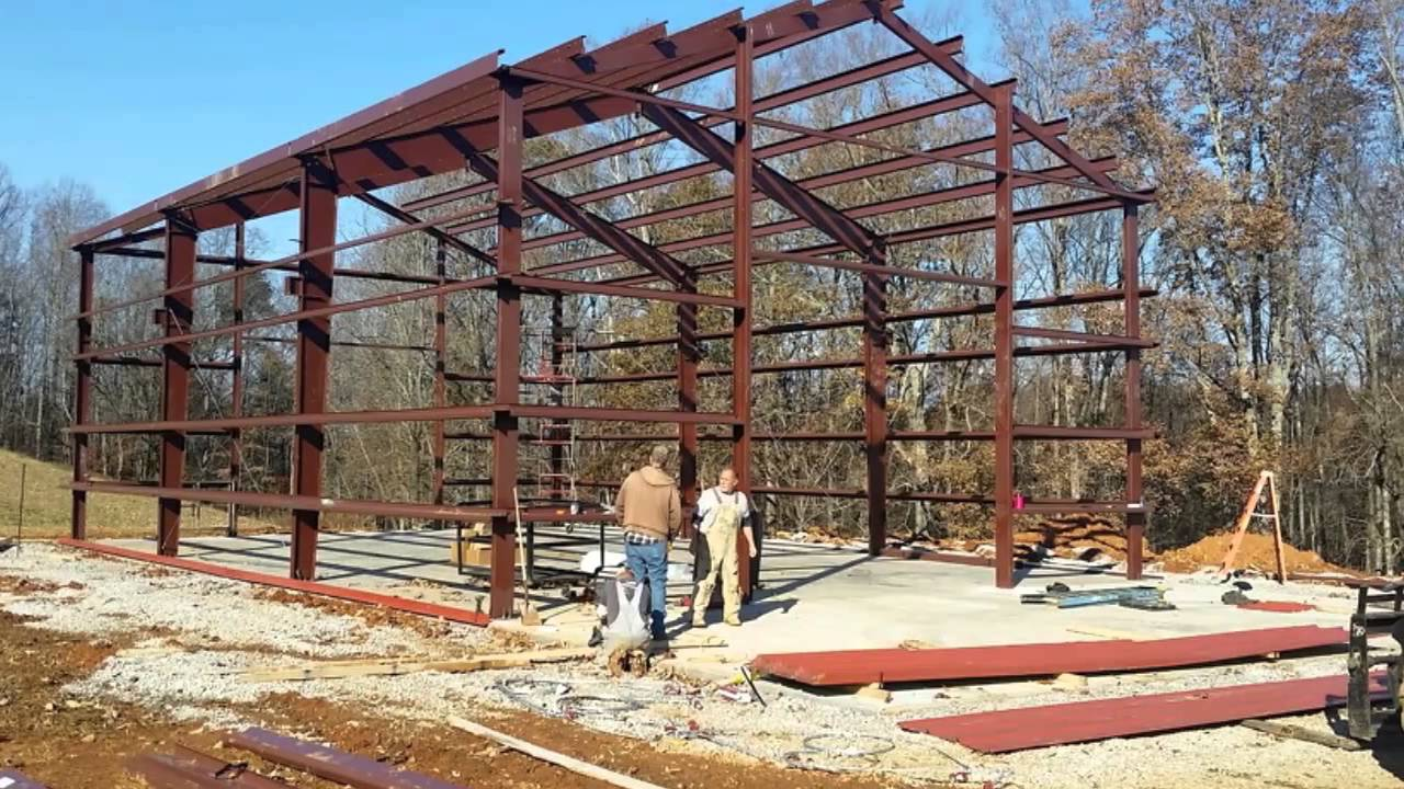 Pre Engineered Steel Metal Buildings In Georgia Kits By