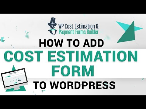 How to Add a Cost Estimation Form to WordPress ( Payment Forms Builder)😮