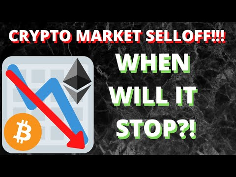 CRYPTO MARKET SELLOFF!!! WHAT SHOULD YOU DO?!