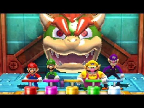 Mario Party The Top 100   All Free For All Minigames