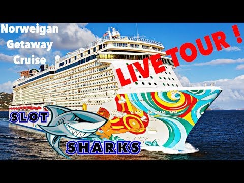 Cruise Ship Tour ! Live from The Norwegian Cruise Line Getaway !