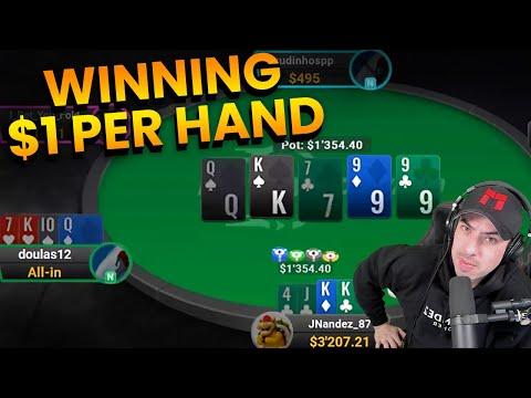 Winning $3500 In 3500 Hands In Pot Limit Omaha Cash Games.