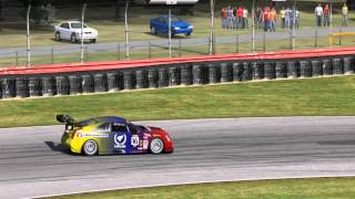 Cadillac CTS-V Racecar @ Mid-Ohio Sports Car Course -  Full Layout ~ 1:25.451