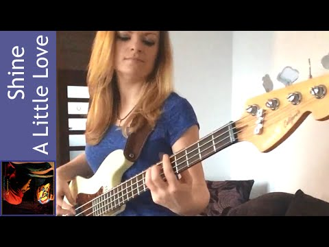 Electric Light Orchestra - Shine A Little Love bass cover (Barbara Prążyńska)