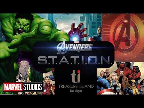 MARVEL AVENGERS S.T.A.T.I.O.N TOUR 2017  INTERACTIVE TOUR LasVegas AvengersStation
