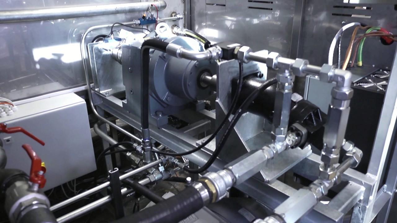 Hydraulic motor testing nj servo electric motor driven Hydraulic motor testing