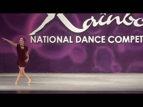 HOMETOWN GLORY/Teen Contemporary Solo/Sydney Solomon/ Avanti Dance Company