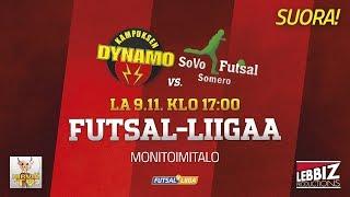 09.11.2019 KaDy - SoVo klo 17.00 Futsal-Liiga