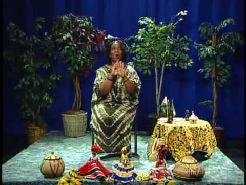 An Evening with Princess Ayo, The African Storyteller 1 - YouTube