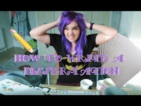 How to write a dissertation | Etch-a-Sketch