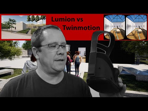 Realistic VR For Architects Tutorial: Quest Link - Sketchup - Twinmotion Vs Lumion