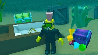 ROBLOX SCUBA DIVING SIMULATOR *FINDING TREASURE*