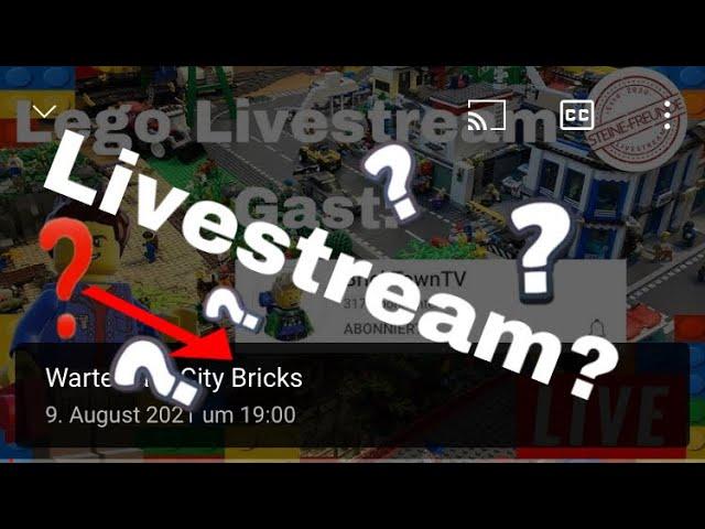 Wann findet der Livestream jetzt statt? /Info Video
