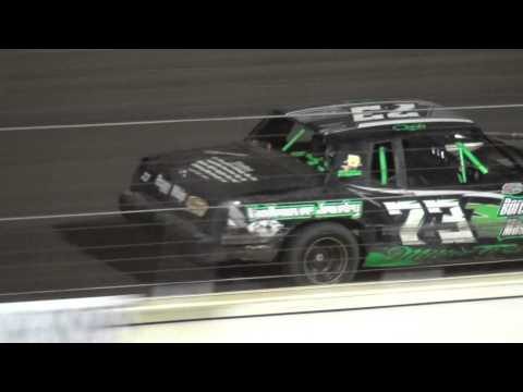 Shiverfest Hobby Stock Heat 3 Lee County Speedway 10/25/14