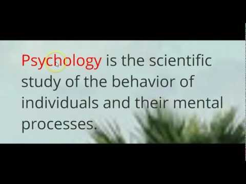 Intro to Psychology Lecture 1