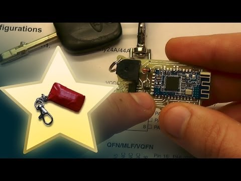 """Mini project: Bluetooth keys finder (aka """"No worries keyfob"""")"""