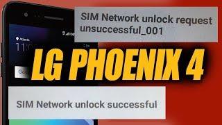Unlocked AT&T LG Phoenix 4 LMX210APM unsuccessful 001 FIXED