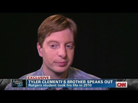 tyler clementi Jane clementi -- whose son, tyler clementi, died by suicide after getting bullied online -- says that after his death at age 18, she also considered suicide.