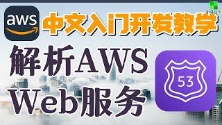 AWS 中文入门开发教学 - Route53 - 解析我的Web服务 p.29