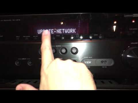 Yamaha Receiver Firmware Update - YouTube