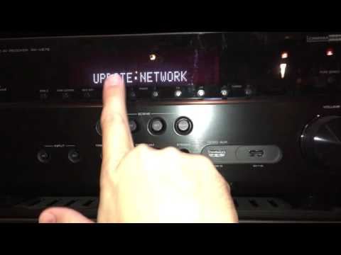 Yamaha Receiver Firmware Update