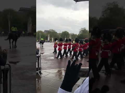 Derrys Walls Changing The Guard At Buckingham Palace London