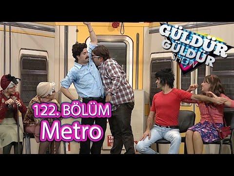 Güldür Güldür Show 122. Bölüm, Metro Skeci