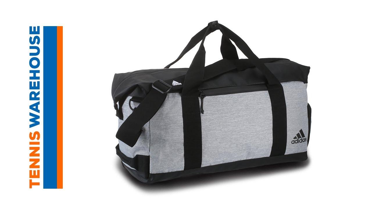 550c83357a88 adidas Sport ID Duffel Bag - YouTube