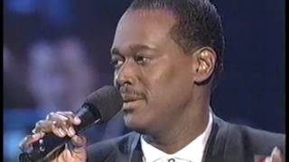Luther Vandross LIVE | Impossible Dream | 1996 American Music Awards