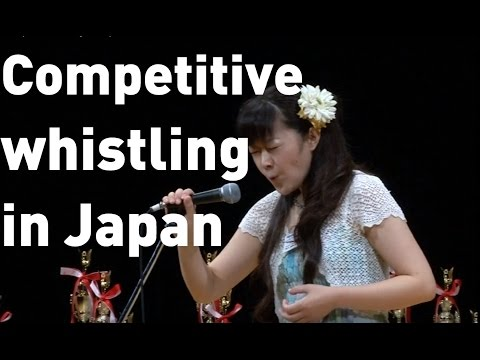 Competitive whistling hits Japan