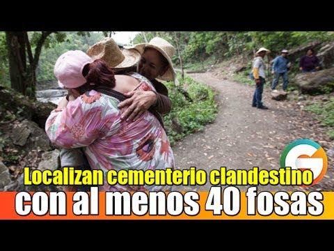 Resultado de imagen de México en un cementerio clandestino