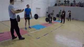 Соревнования по КРОССФИТ в Атырау 21.12.2014. __Golden Gym