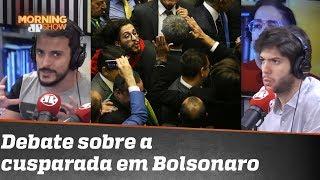 Jean Wyllys diz ter orgulho por cusparada em Bolsonaro. O que Coppolla e Fefito acham?