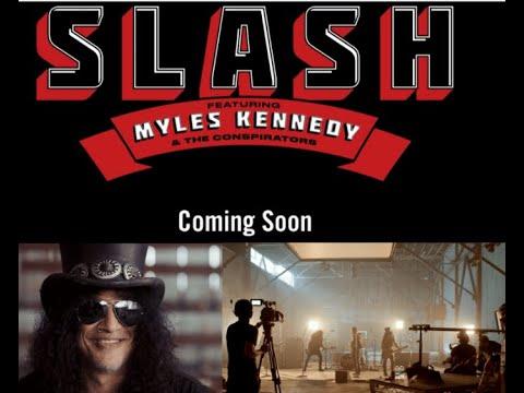 "Slash feat. Myles Kennedy & The Conspirators tease new album ""best one we've done so far"""