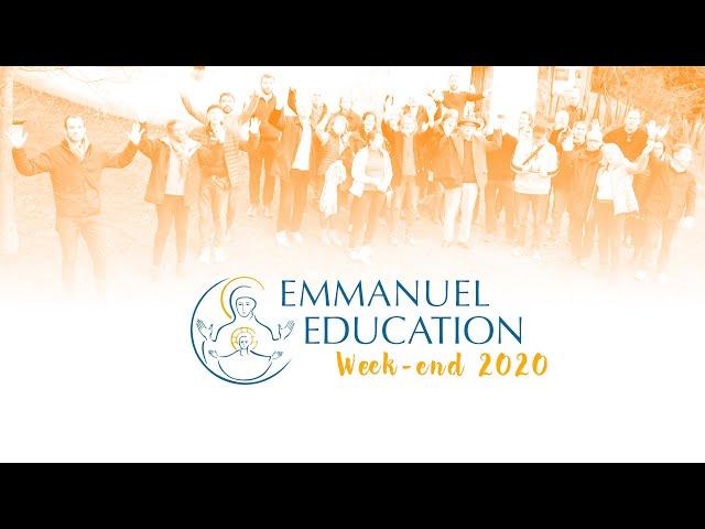 Week-end Emmanuel Education 2020 : le reportage