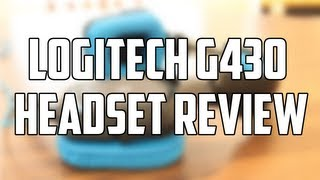 Logitech G430 Gaming Headset Review! (BEST PC GAMING HEADSET)