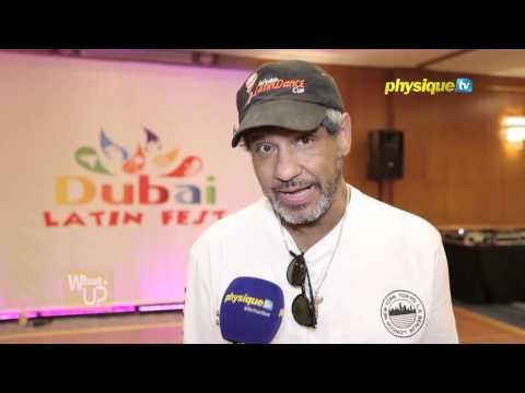 Celebrity Fit: Latin dance  choreographer Albert Torres