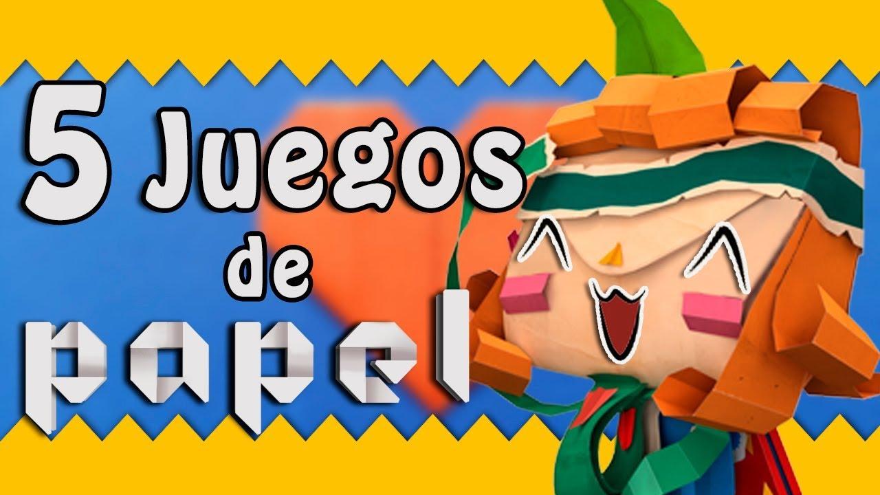 5 Juegos De Papel Origami Que Te Haran Sonar Videojuegos